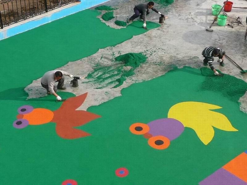 塑胶幼儿园场地施工
