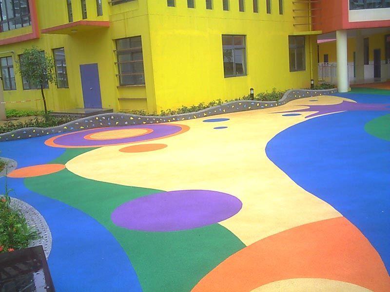 幼儿园室外塑胶场地