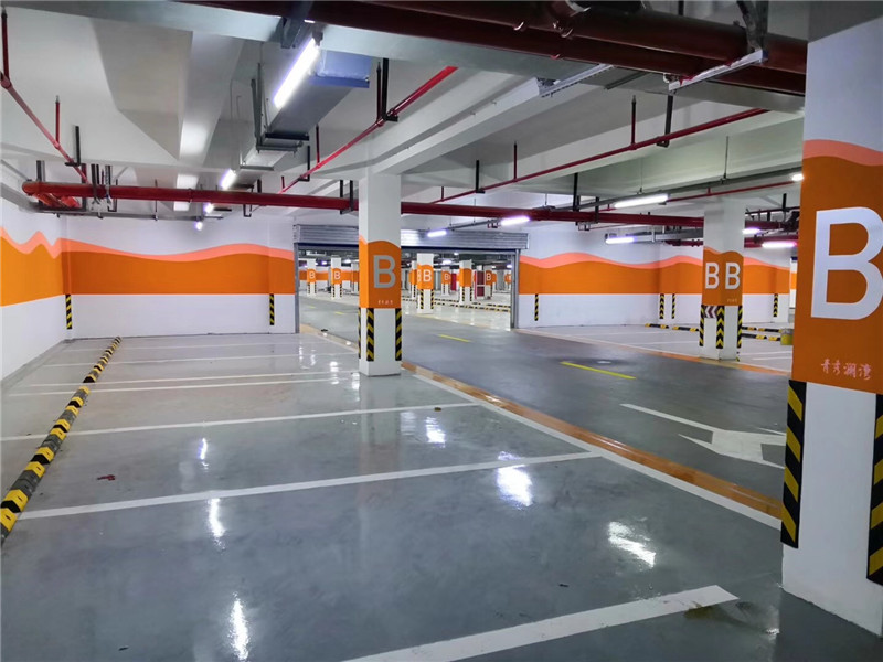 金鹰国 际停车场地坪