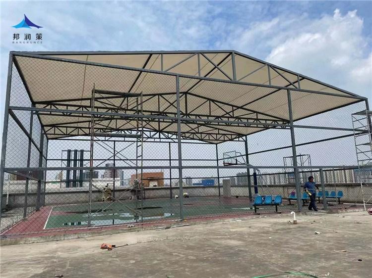 西安市航泰电气有限公司篮球场工程