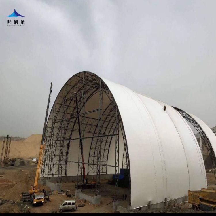 煤棚膜结构工程施工