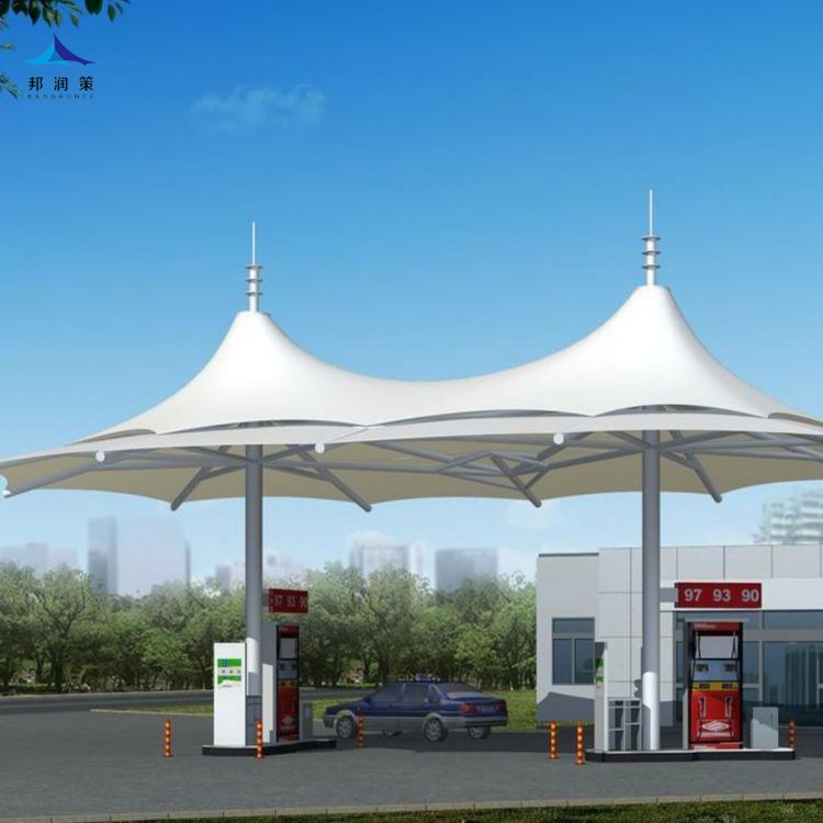 加油站膜结构设计