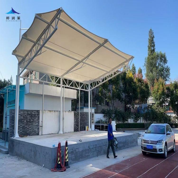 安康市高新第二小学膜结构看台