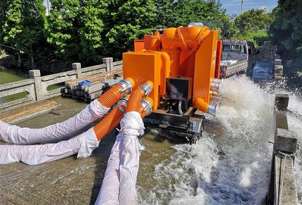 文璟盛与您分享防汛排涝泵车使用优势!