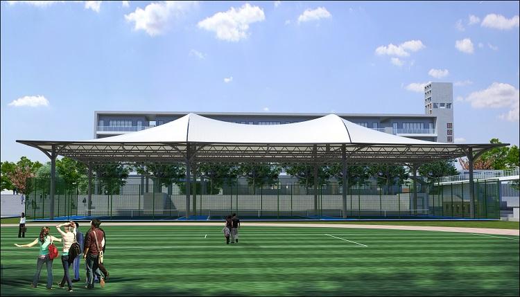 西安球场膜结构