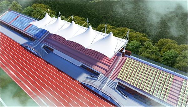 西安学校膜结构