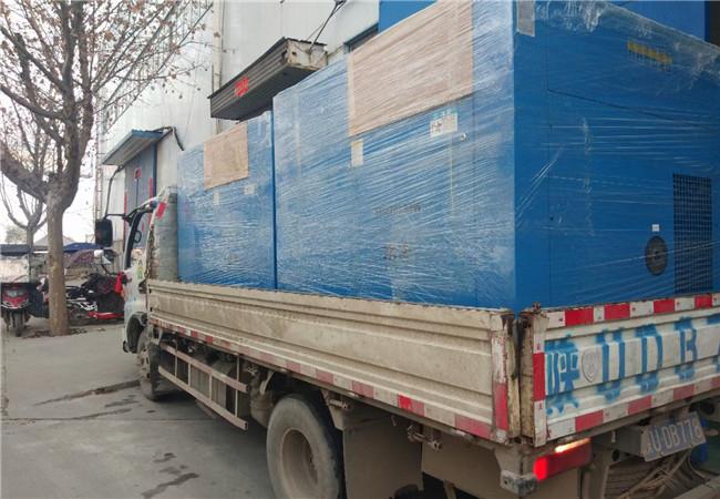 水冷机、冷干机、储气罐、制氮机合作案例