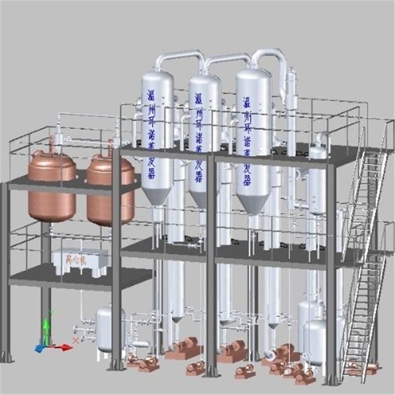 山东高含盐废水处理可以采用蒸发结晶技术,你了解多少呢?