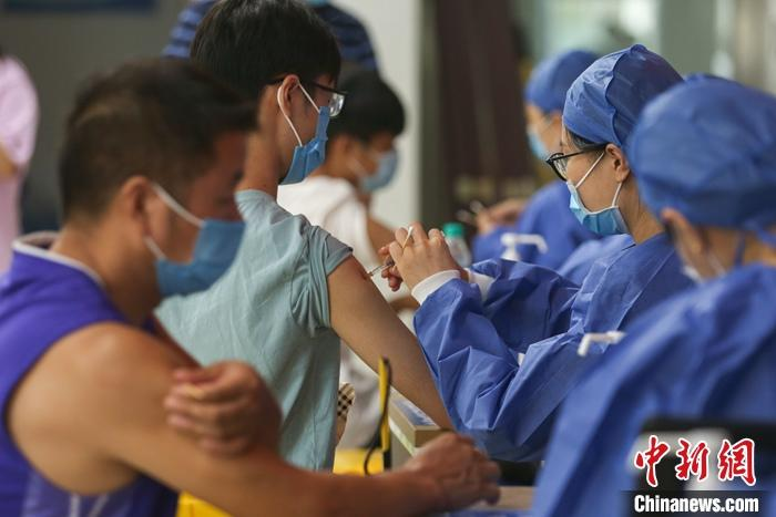 31省份累计报告接种新冠病毒疫苗204462.5万剂次