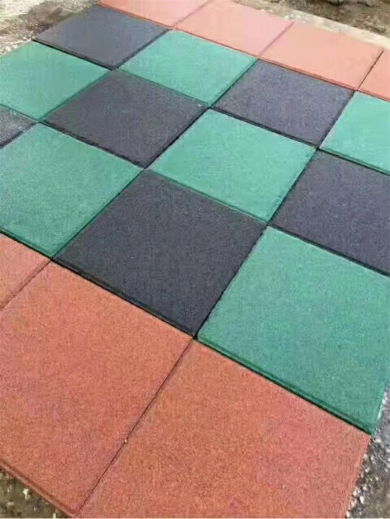 四川广场透水砖