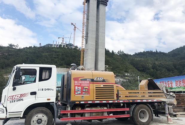四川高压混凝土泵出租