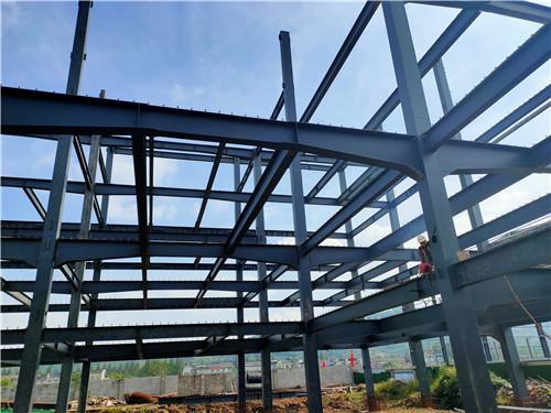 四川钢结构工程-蒲江惠尔斯项目1号车间钢结构工程