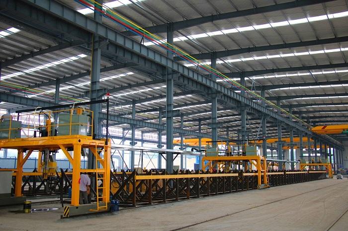 走进成雅工业园|探秘金黄河装配式产业基地
