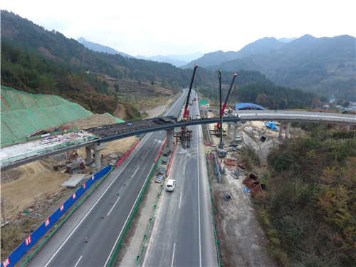 青川桥项目桥梁工程合作案例