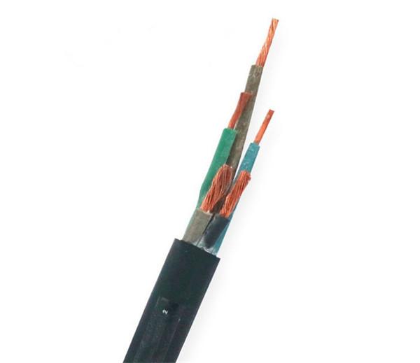 矿用橡套电缆是由哪几层机构组成的?有什么特点?