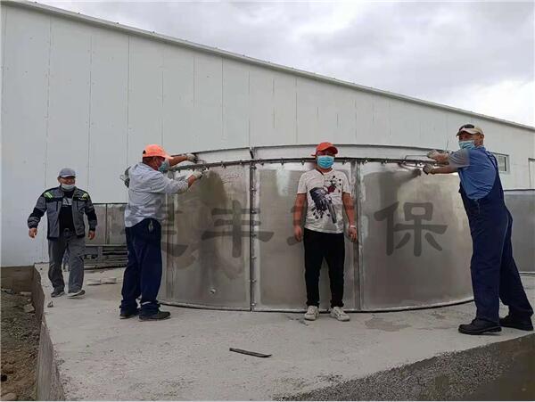哈沙克斯坦有机肥生产线安装案例