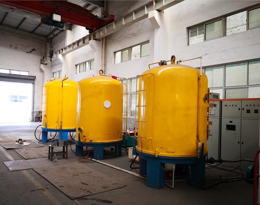 湖州热处理工厂离子氮化炉案例