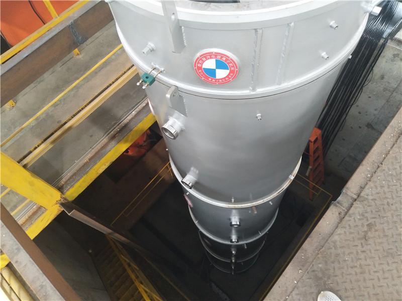 舟山深井式等离子渗氮炉