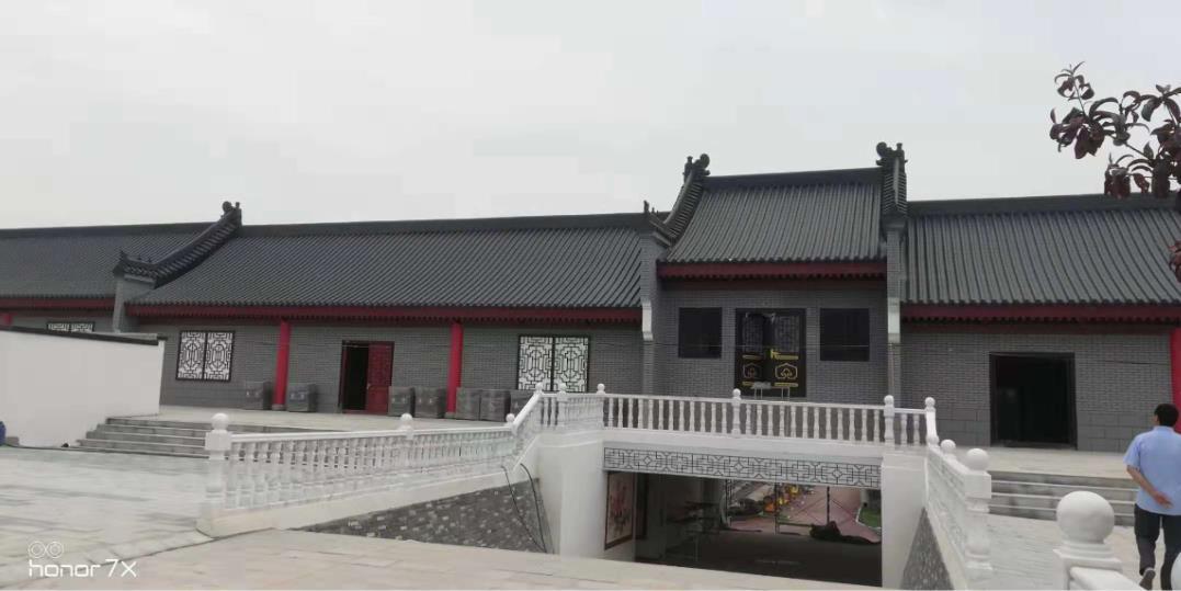西户殡仪馆铝合金瓦屋面装饰工程