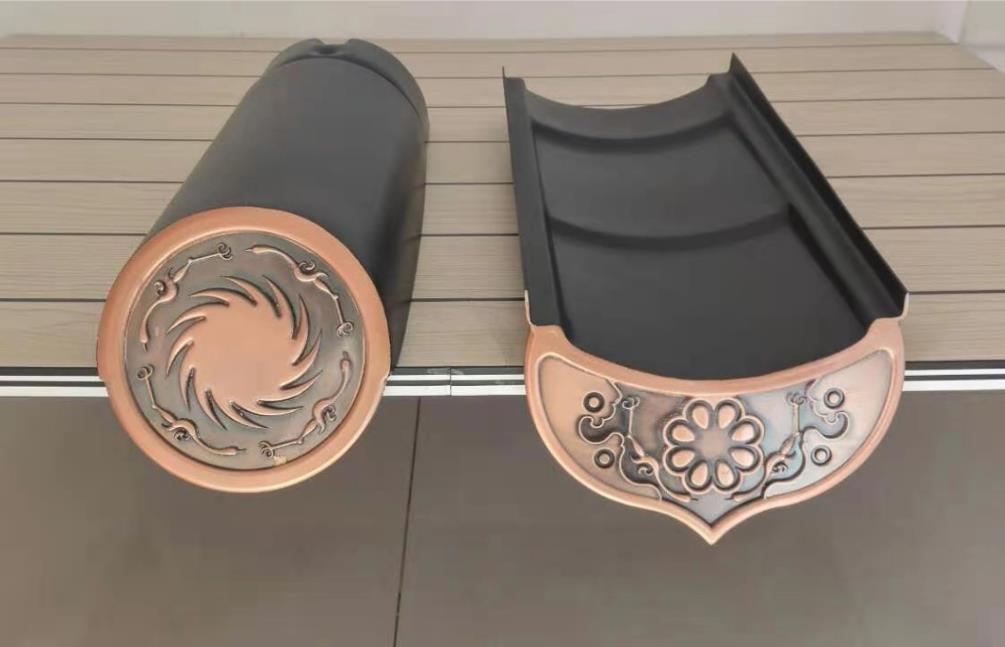 紫铜金属瓦