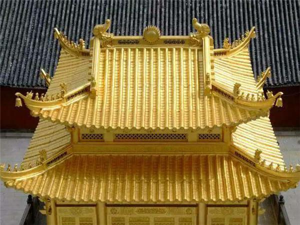 今天西安的仿古铜瓦厂家给大家介绍一种新型的屋面瓦