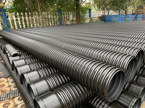 宝鸡HDPE增强钢带管生产