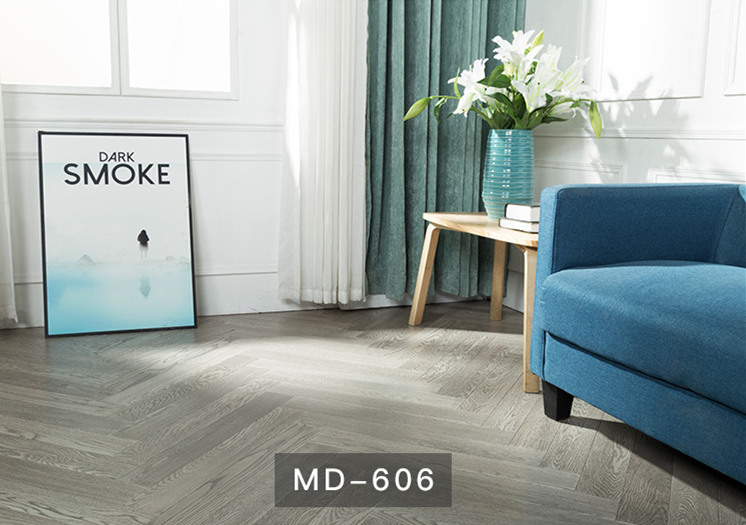 橡木人字拼:MD606(新三层)