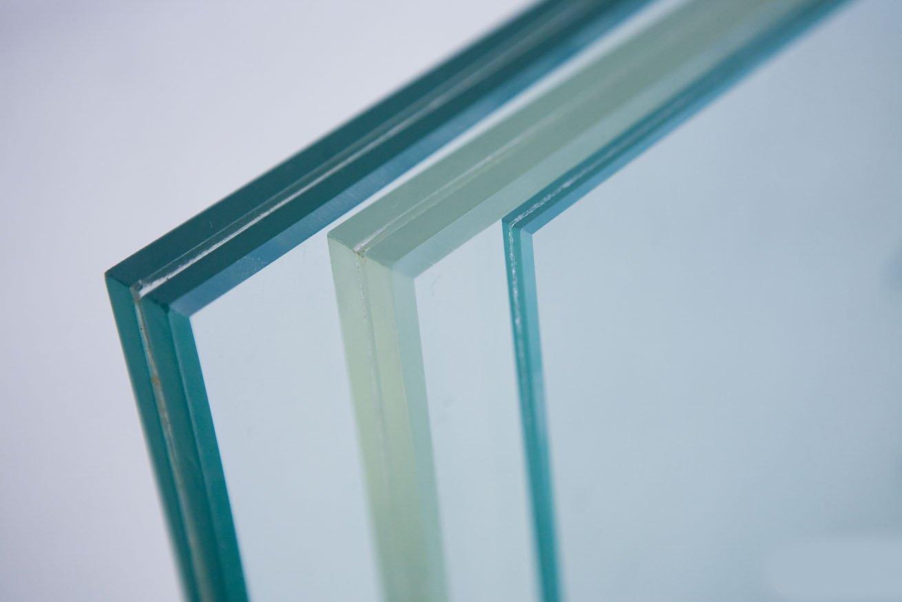 成品夹层玻璃施工