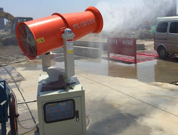 雾炮机安装