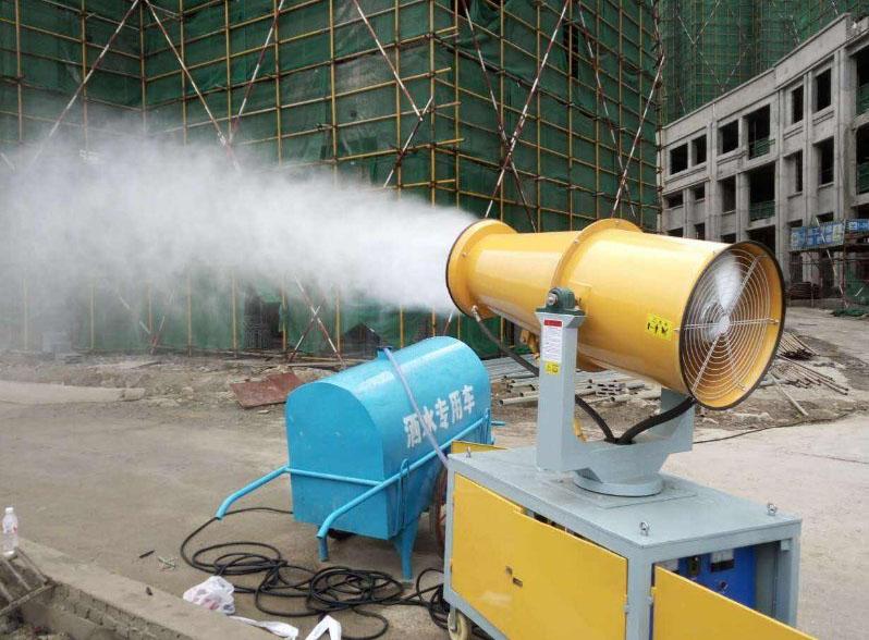 除尘雾炮机案例