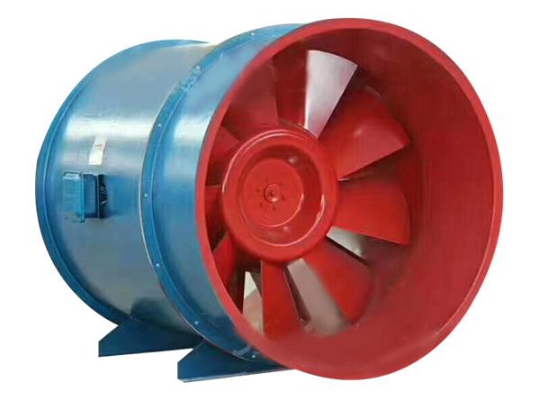 西藏消防风机-高温排烟混流风机