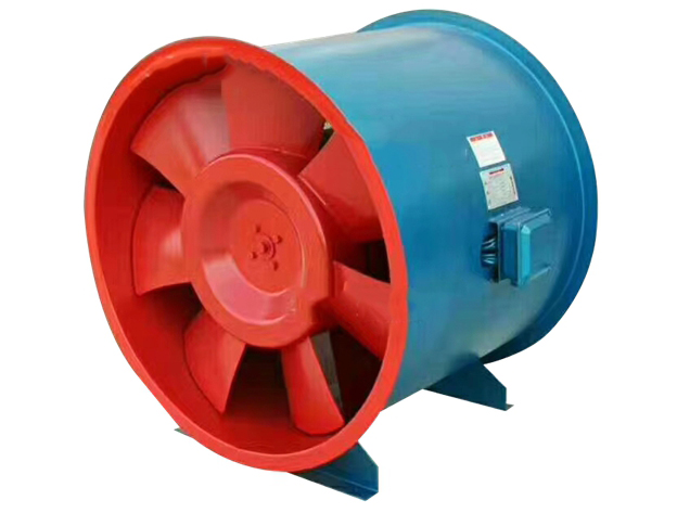 西藏消防风机-高温排烟轴流风机