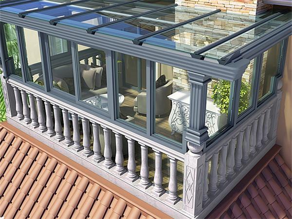 西安钢结构阳光房