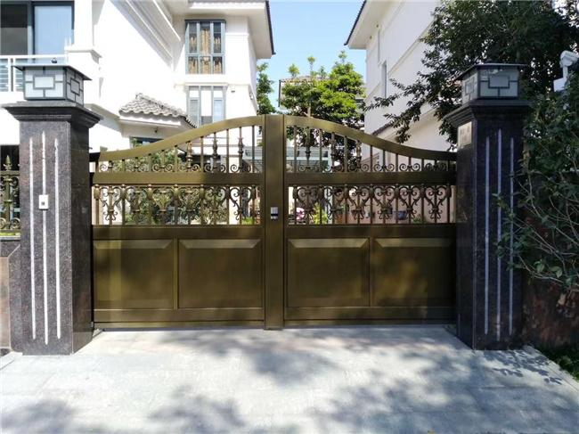 榆林庭院门安装