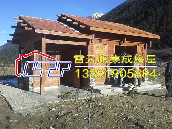 四川环保公厕施工安装成功案例
