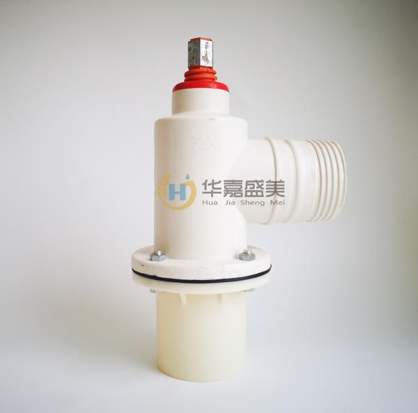 河南PVC下体单向无铁件玻璃钢出水口销售