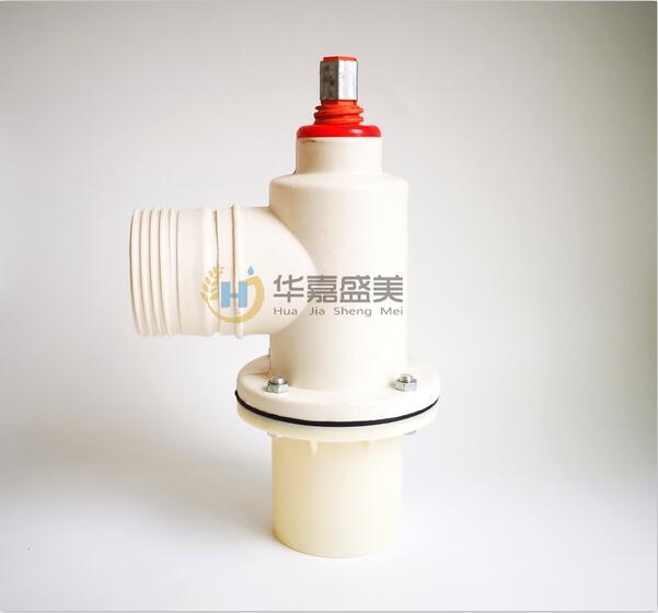 河南PVC下体单向无铁件玻璃钢出水口