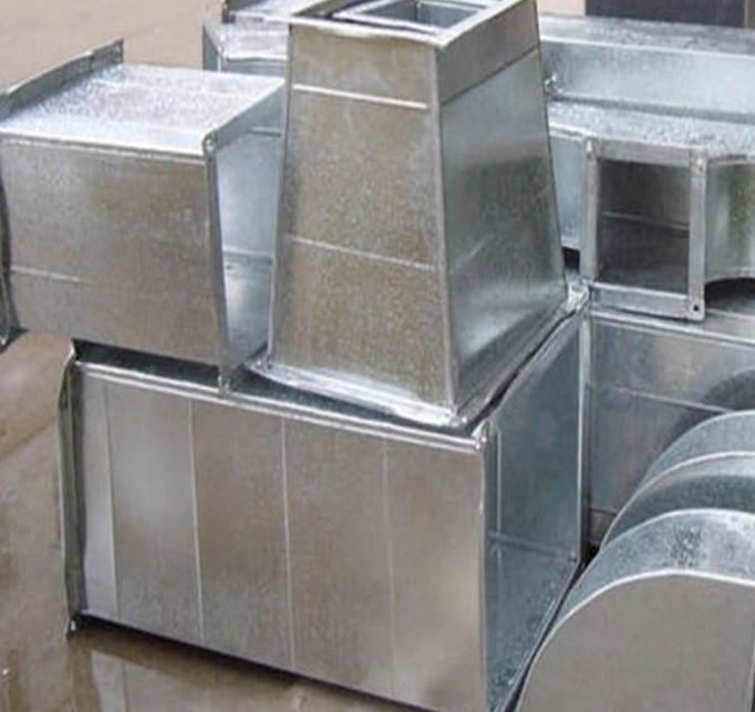 张家口风管厂制作不锈钢镀锌铁皮方形风管