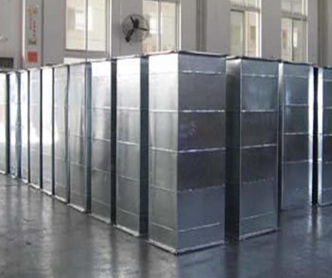 内蒙镀锌板风管 工业民用建筑白铁皮排风风管