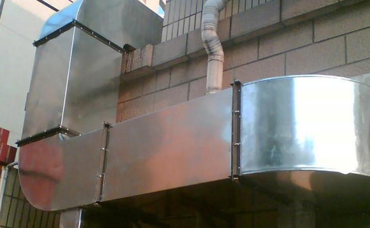 张家口某厂房排烟通风管安装项目