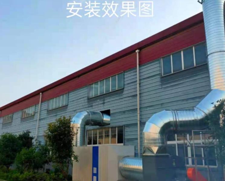某厂排气螺旋风管安装项目