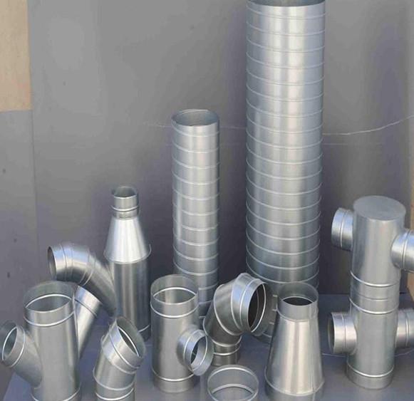 张家口镀锌螺旋风管的安装6个要求!