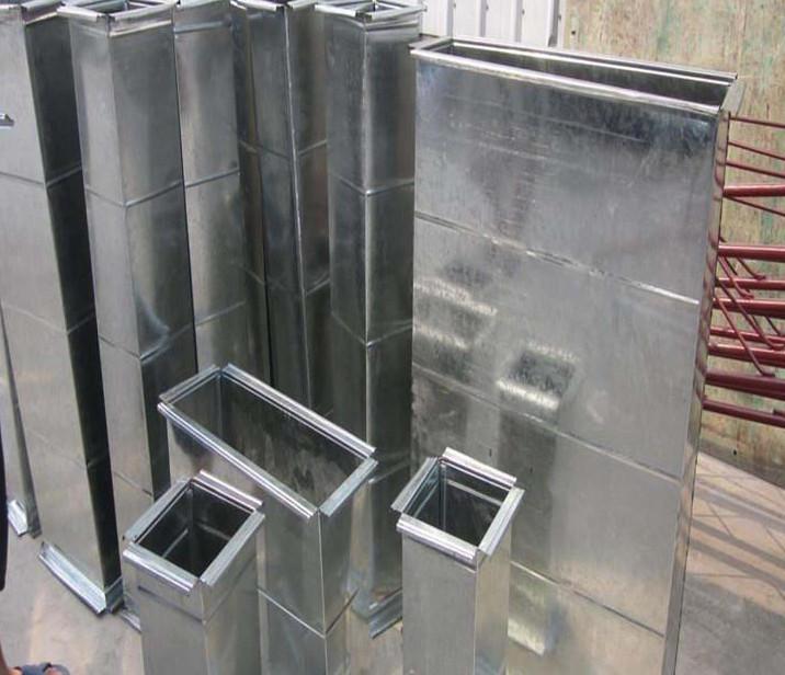 张家口不锈钢通风管道黑白铁管道安装