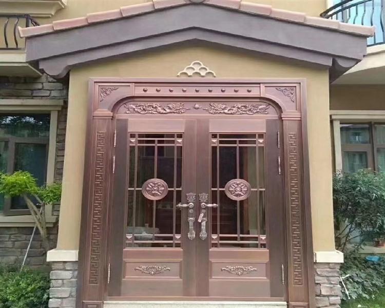 宁夏铜门案例