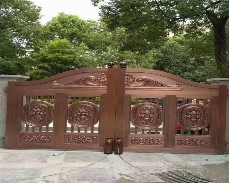克拉玛依铜门