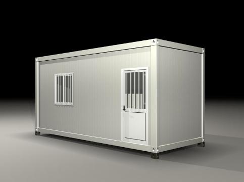 你可不要小瞧集装箱房,它也可以被打造成很温馨小屋