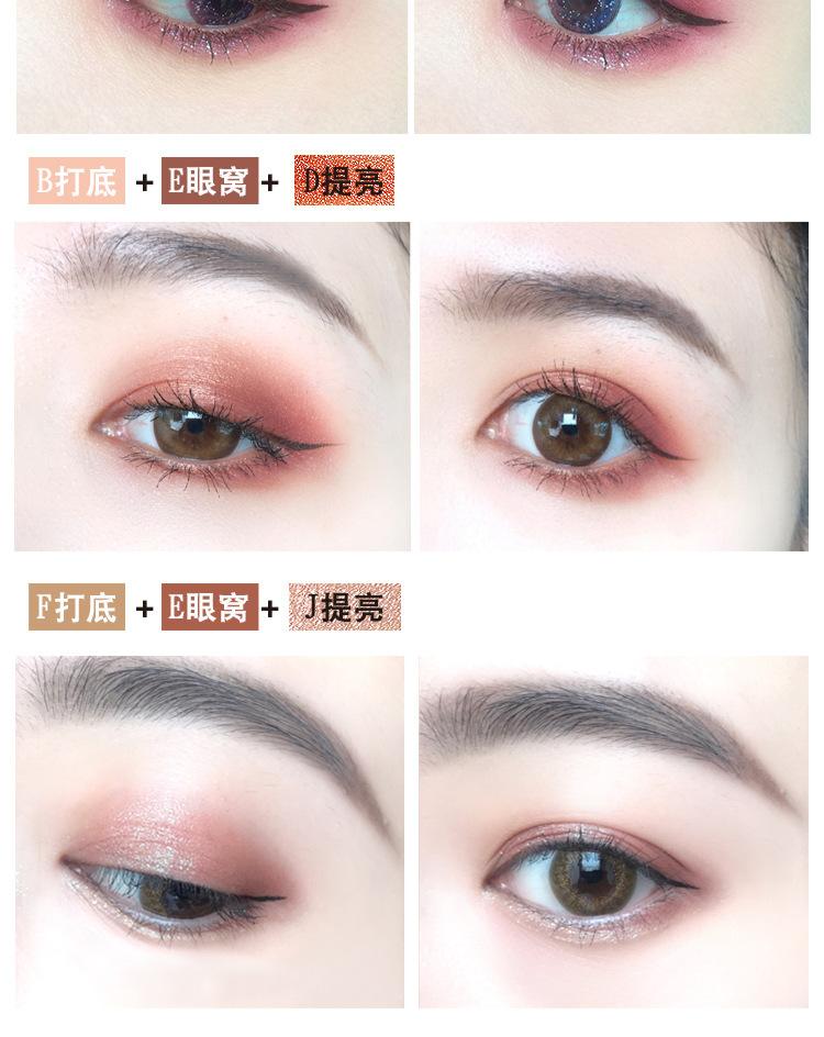 遵义化妆学校分享眼影常见的几种画法!