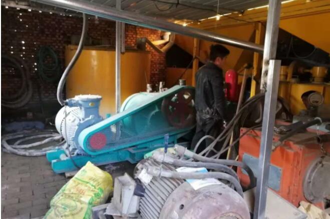 山西吕梁昌恒煤矿堵水灌浆工程中使用了鼎盛华瑞灌浆记录仪