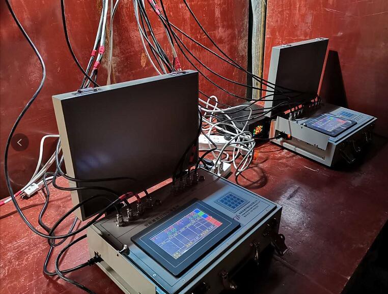 龙滩水库灌浆工程中使用了鼎盛华瑞灌浆记录仪