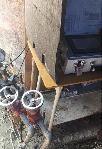 新春水库灌浆工程中使用了鼎盛华瑞灌浆记录仪,效果突出!